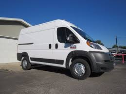 dodge cargo 2018 dodge ram promaster cargo high roof 1500 white