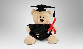 personalized graduation teddy personalized graduation cap and gown teddy groupon