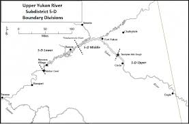 Yukon River Map 2017 Yukon River Summer Salmon Fishery News Release 22