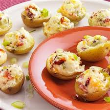 makeover stuffed potato appetizers recipe taste of home