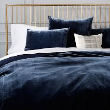 What Is A Duvet Insert Luxe Velvet Duvet Cover Shams West Elm