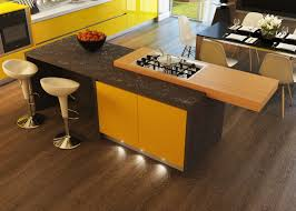 Kitchen Islands With Cooktops by Kitchen Design With Gas Stove On Top Wooden Kitchen Table And