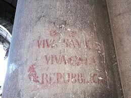 banco san marco chioggia svelato il mistero delle scritte sulle colonne di piazza san marco