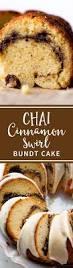chai cinnamon swirl bundt cake sallys baking addiction