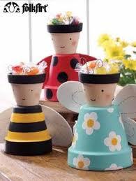 Decorating Clay Pots Kids Macetas Decoradas Macetas Casa 12264 Recipientes Y