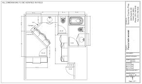 master bathroom floor plans home design inspiration