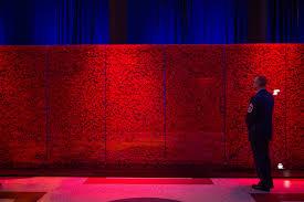 usaa memorial poppy walls honor 640 000 stories of fallen heroes