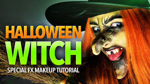 halloween witch sfx makeup tutorial youtube