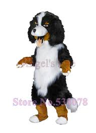 realistic costumes aliexpress buy realistic bernese mountain dog mascot costume
