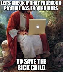 Sick Child Meme - let s check if that facebook picture has enough likes to save the