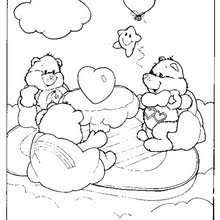 tenderheart bear coloring pages hellokids com
