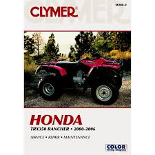 amazon com clymer honda trx350 rancher 2000 2006 automotive