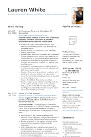 sample human resources generalist resume resume for a human