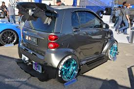 smart car lifted the best and worst of sema 2014 autoevolution