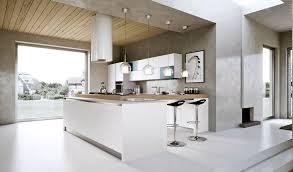 Kitchen Worktop Ideas Kitchen Contemporary White Kitchen Ideas With Brick Wall