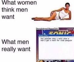 Youtube Memes - dopl3r com memes what women think men want anreoistrred hveercam