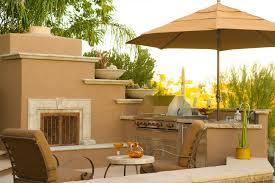 Outdoor Metal Fireplaces - exterior remodel tucson az