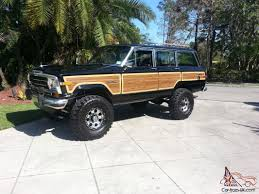 jeep grand wagoneer jeep grand wagoneer 360 4x4 lifted amazing eye catching classic
