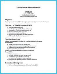resume exle for server bartender electrical engineering student resume sle http