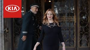 nissan commercial actress christina hendricks is the in the kia tv commercials photos