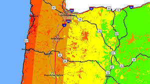 Portland Oregon County Map by Map Shows 1 800 Portland Buildings Vulnerable In Earthquake Kgw Com