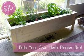 herb planter boxes some simple ideas on how to craft diy planter boxes diy craft