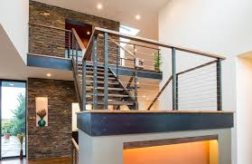 Three Bedroom House Interior Designs Modern Two Storey Home With Narrow Roof Lines By Elemental Design