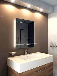 Illuminated Bathroom Wall Mirror - bathrooms design illuminated bathroom mirrors with shaver socket