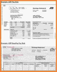 6 free downloadable pay stub template adp securitas paystub