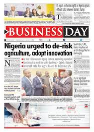 Niger 2017 2018 Bourse Cuba Businessday 07 May 2018 By Businessday Issuu