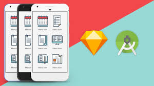 sketch app ui design to android xml studio tutorial youtube