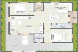 2 bhk independent house plans in india