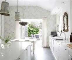 shabby chic kitchen decorating ideas kitchen wall paper shabby chic kitchen with fl wallpaper garden