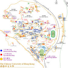 Cu Campus Map Directions From Hotels To Cuhk Campus