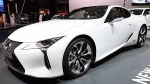 hybrid lexus 2017 lexus lc500h hybrid luxury sports car on display during the 2017