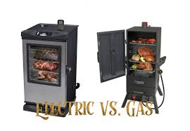 electric smoker vs gas smoker the house of bbq