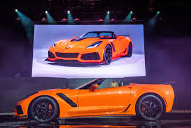 chevy supercar 2019 chevy corvette zr1 convertible is happening could be yours