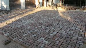 Cost Of Brick Paver Patio by Pavers Vs Concrete Patio Laura Williams