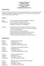 Nursing Resume Samples For New Graduates by Sample Lpn Resume Berathen Com