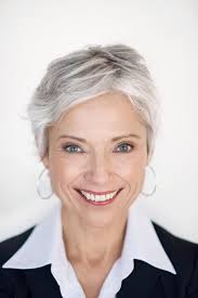 perm for grey hair pictures of short hairstyles for gray hair lovetoknow