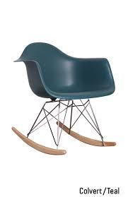 chaise bascule eames fauteuil à bascule rar pinteres