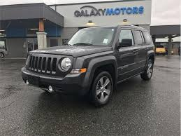2017 jeep patriot sunroof 2017 jeep patriot high altitude edition 4wd sunroof west shore