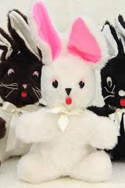 stuffed bunnies for easter bunny rabbits 1960s vintage handmade stuffed animals fuzzy fur