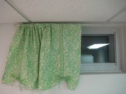Basement Window Curtains Simple Curtains For Basement Window How To Make A Curtain Blinds