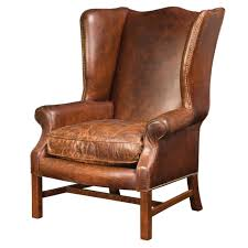 leather wingback chair home design by larizza