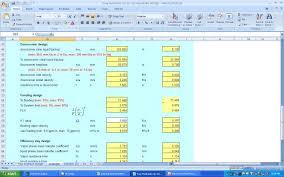 Cold Room Design Calculations Xls