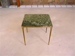 marble and brass coffee table mid century italian marble brass side table for sale at pamono