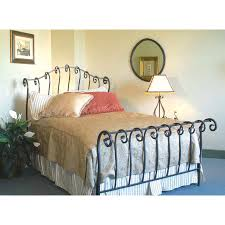 Metal Sleigh Bed Bedroom Interactive Bedroom Decoration Using Upholstered