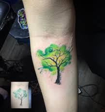 watercolor tree venice designs