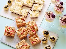 healthy summer no bake desserts food network healthy summer